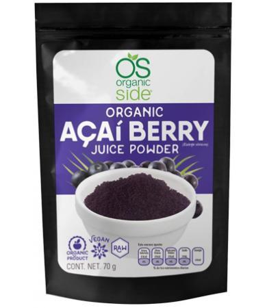 ACAI BERRY 70 G ORGANIC SIDE