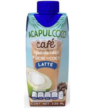 ACAPULCOCO CAFE SABOR LATTE 330 ML