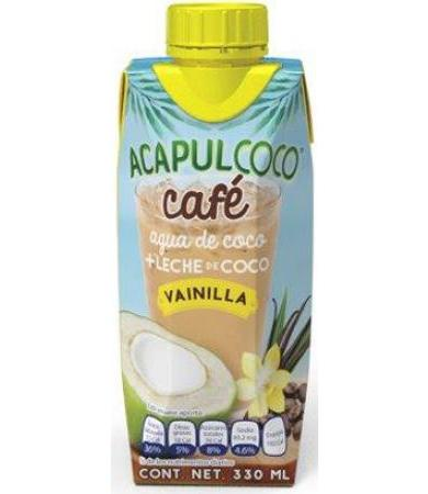 ACAPULCOCO CAFE VANILLA 330 ML