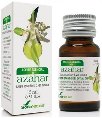 ACEITE AZAHAR 15 ML SORIA NATURAL