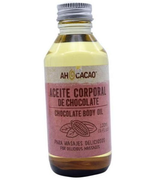ACEITE CORPORAL DE CHOCOLATE 120 ML AH CACAO