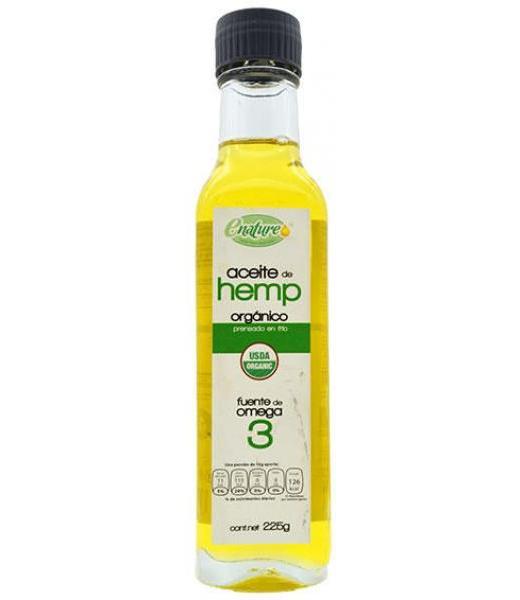 ACEITE DE HEMP ORGANICO 225 G E-NATURE