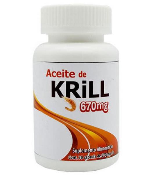 ACEITE DE KRILL 670 MG 30 CAP DOS MUNDOS
