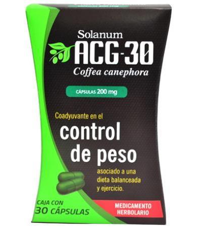 ACG 30 COFFEA CANEPHORA 30 CAPS SOLANUM