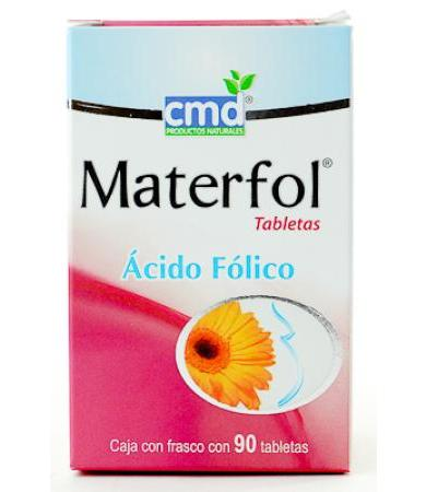 ACIDO FOLICO MATERFOL 90 COMPRIMIDOS CMD