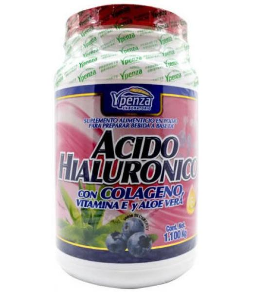ACIDO HIALURONICO CON COLAGENO Y VIT E 1100 G YPENZA