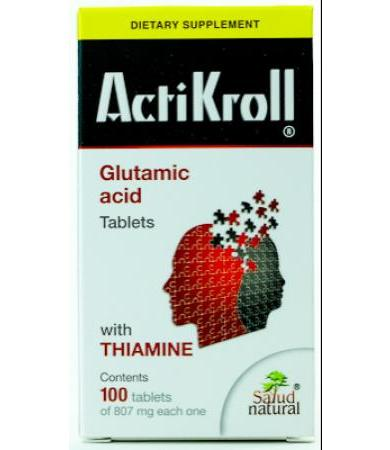ACTIKROLL 850MG 100 TAB SALUD NATURAL