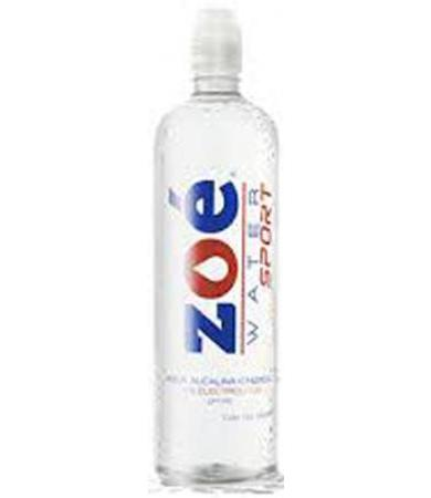 AGUA ALCALINA IONIZADA ELECTROLITOS PH 9.5 900 ML ZOE WATER SPOR