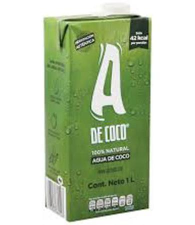 AGUA DE COCO 1 L A DE COCO