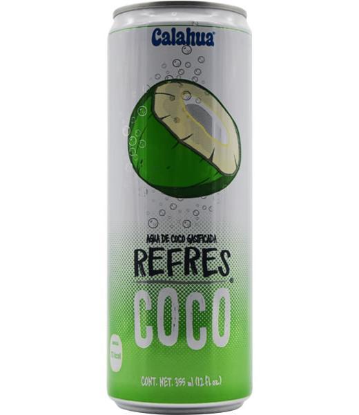 AGUA DE COCO GASIFICADA 355 ML CALAHUA