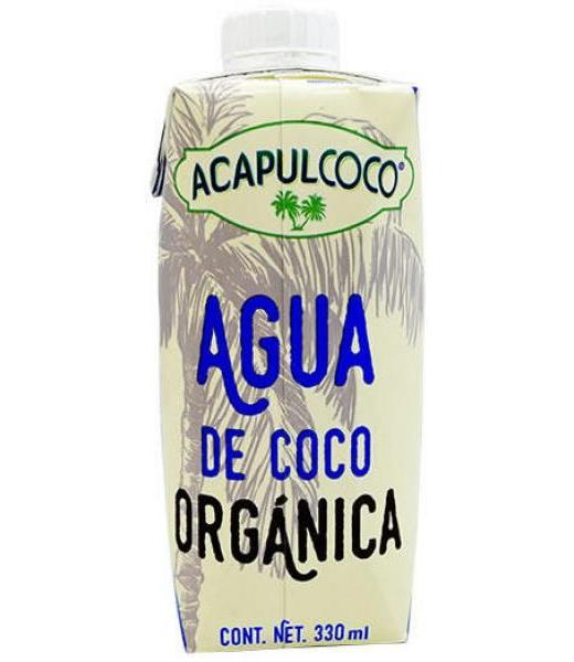 AGUA DE COCO ORGANICA 330 ML ACAPULCOCO