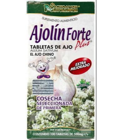 AJOLIN FORTE 100 TAB NATURAMEX