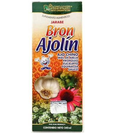 AJOLIN JARABE BRON 240 ML NATURAMEX