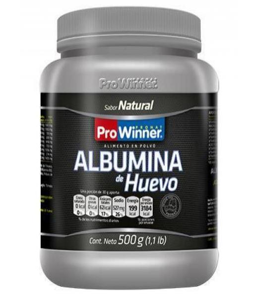 ALBUMINA DE HUEVO NATURAL 500 GR. PRONAT