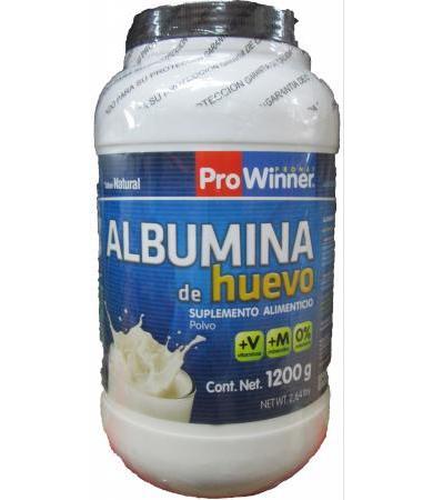ALBUMINA DE HUEVO 1200 G PROWINNER