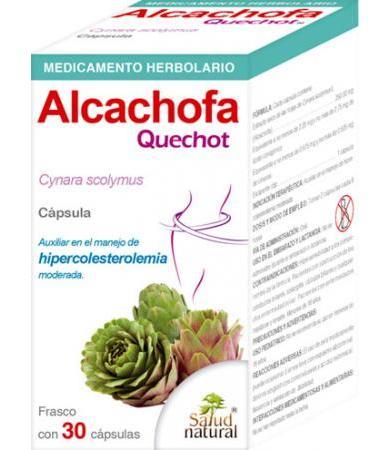 ALCACHOFA QUECHOT 30 CAP SALUD NATURAL