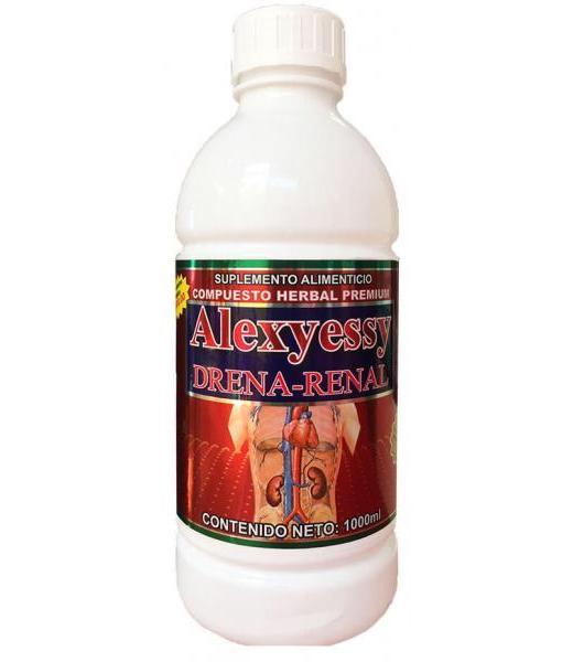 ALEXJESSY COMPUESTO DRENA-RENAL 1000 ML NUTRY SALUD