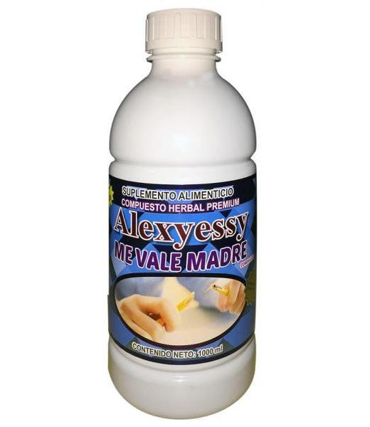 ALEXJESSY COMPUESTO ME VALE MADRE 1000 ML NUTRY SALUD