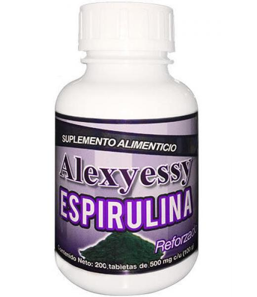 ALEXJESSY TBS. ESPIRULINA C 200 NUTRY SALUD
