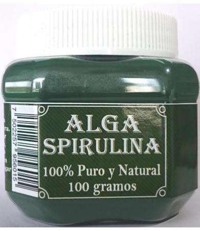 ALGA SPIRULINA POLVO 100 G 3 GENERACIONES
