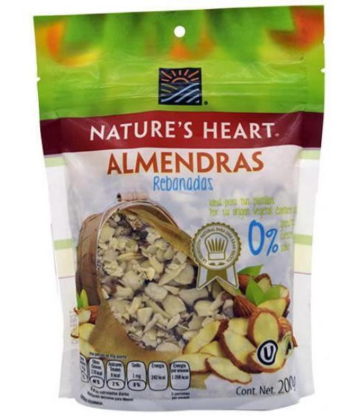 ALMENDRAS REBANADAS 200 G NATURES HEART