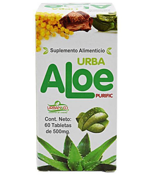 ALOE Y CUACHALALATE 60 TAB URBAN&CO