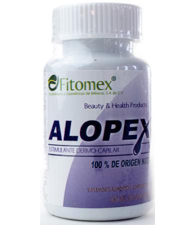 ALOPEX ESTIMULANTE DERMO CAPILAR 90 CAP FITOMEX