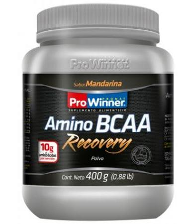 AMINO BCAA RECOVERY 400 G SAB MANDARINA PRONAT