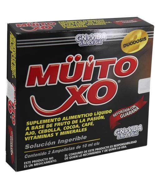 MUITO CXO SOLUCION INGERIBLE 2 AMP 10 ML GN + VIDA