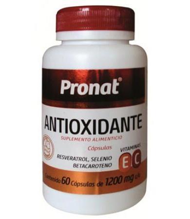 ANTIOXIDANTE CON RESVERATROL 60 CAP PRONAT