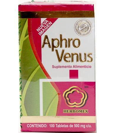 APHRO VENUS 100 TAB HERBOMEX