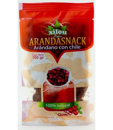 ARANDANO CON CHILE 100 G DXILOU ALL NATURAL