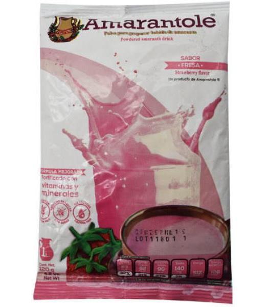 ATOLE DE AMARANTO FRESA 120 G AMARANTOLE