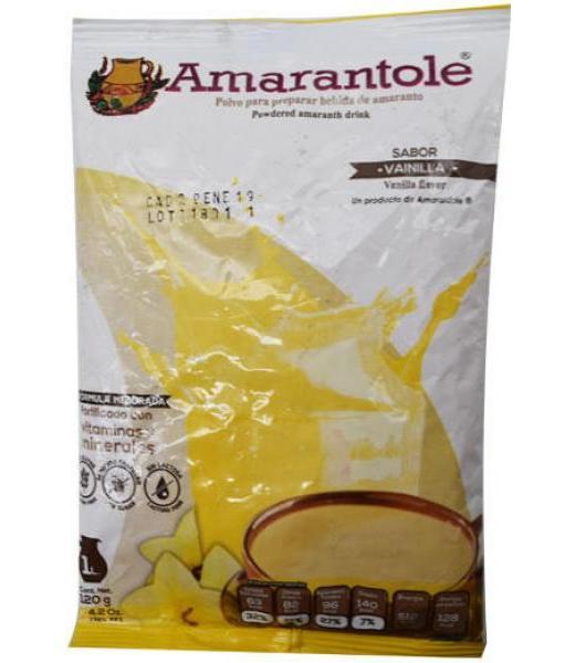 ATOLE DE AMARANTO VAINILLA 120 G AMARANTOLE AMARANTOLE