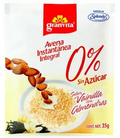 AVENA INSTANTANEA ALMENDRAS 35 G GRANVITA