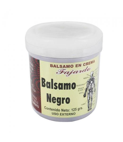 BALSAMO EN CREMA BALSAMO NEGRO 125 GR. CENTRO BOTANICO FAJARDO
