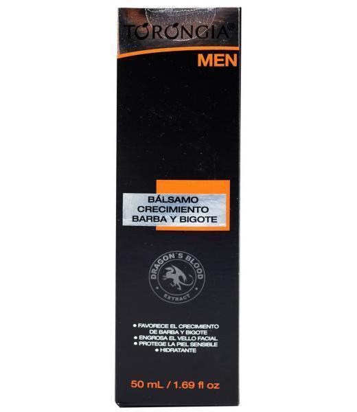 BALSAMO PARA BARBA Y BIGOTE 50 ML TORONGIA MEN