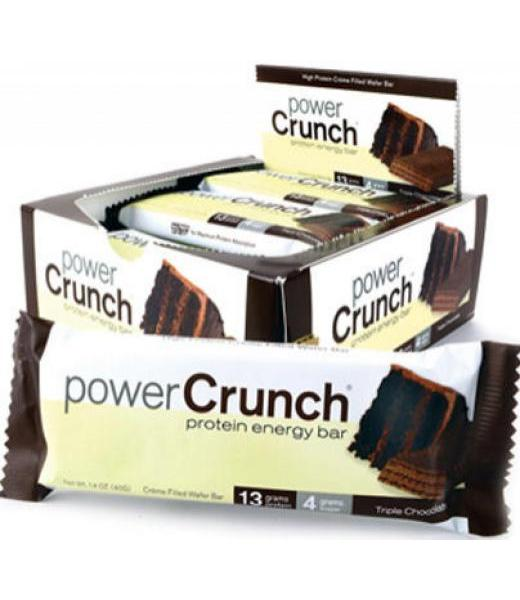 BARRA DE PROTEINA 3 CHOCOLATES 91 G POWER CRUNCH P 12