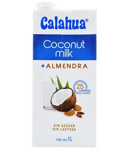 BEBIDA DE COCO Y ALMENDRA 1 LT COCONUT MILK