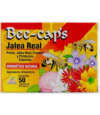 BEE CAPS JALEA REAL 250 MG 50 CAP SALUD NATURAL