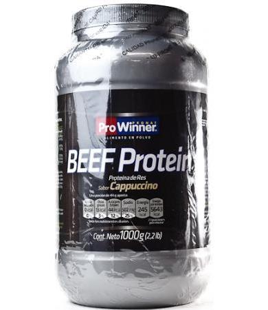 BEEF PROTEIN CAPUCHINO 1 KG PROWINNER
