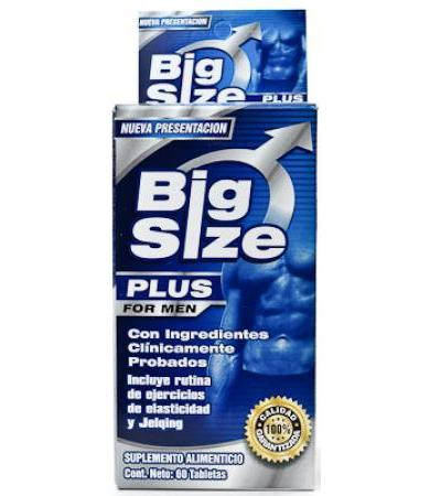 BIG SIZE FOR MEN 60 TAB