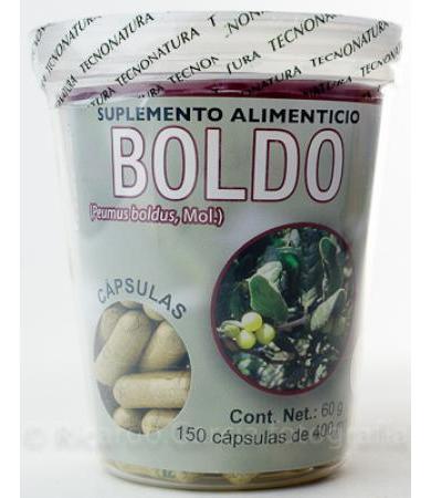 BOLDO Y ALCACHOFA 40 CAP NATURALES CALIFORNIA