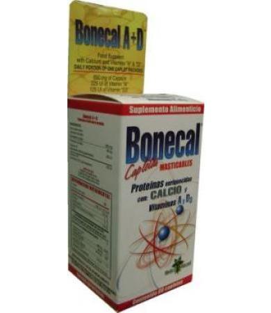 BONECAL CAPLETAS MASTICABLES 60 CAP BQM