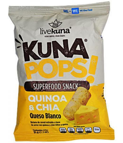 BOTANA DE QUINOA SAB QUESO 35 G KUNA POPS C 12