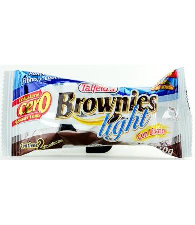 BROWNIES DE FIBRA LIGHT 30 G TAIFELD S P 12