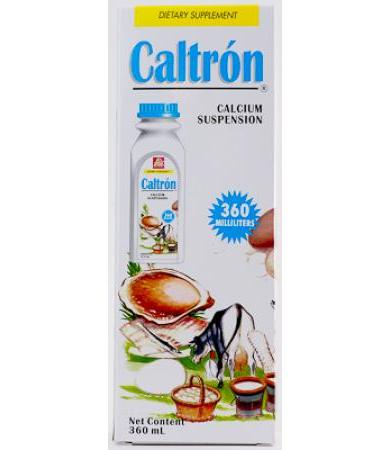 CALCIO CALTRON LIQUIDO 360 ML SALUD NATURAL
