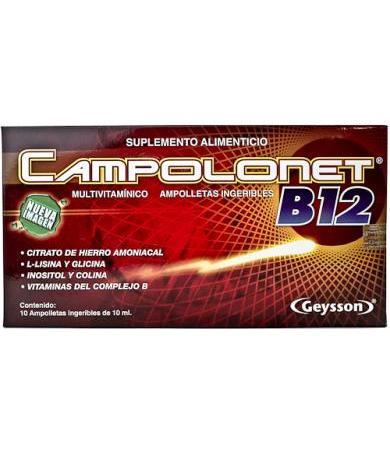 CAMPOLONET AMP 10X12 ML GN + VIDA GEYSSON