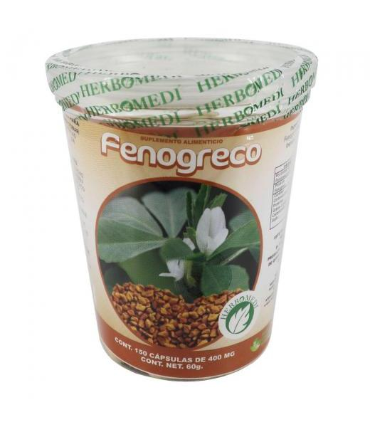 CAPS. FENOGRECO C 150 HERBOMEDI