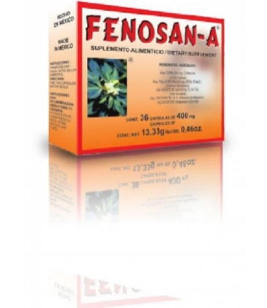CAPS. FENOSAN-A C 36 PRODUCTOS TAMPICO
